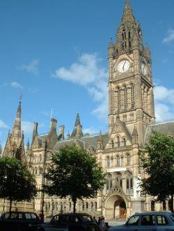 Das Rathaus von Manchester