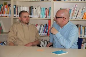 Martin Kruspe und Dr. Dirk Sander (Foto: Schomann)