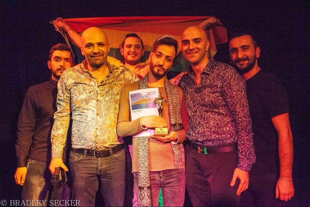 """Teilnehmer """"Mr. Gay Syria"""""""