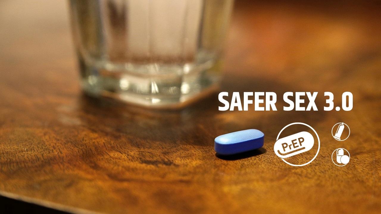 PrEP-Tablette auf Tisch