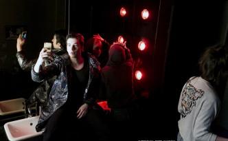 """Urauffuehrung von """" Nasser #7 Leben """" nach Motiven von Nasser El-Ahmad. Grips Theater im Podewil, 14. Maerz 2017."""
