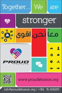 ProudLebanon-Plakat