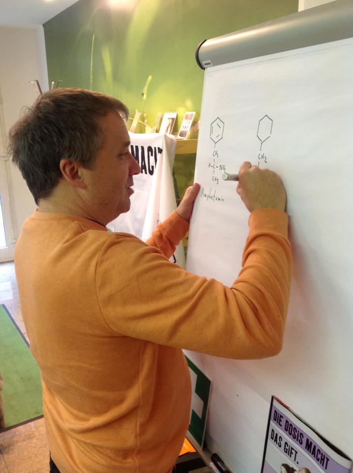 Pharmazeut Thibor Harrach bei einer Schulung in Dortmund. (Foto: Harrach)